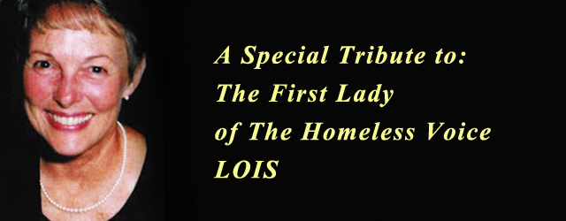 The First Lady of The Homeless Voice