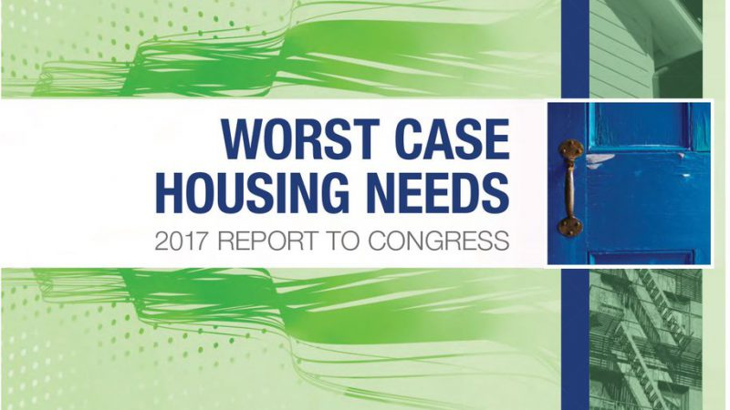 "HUD report details increase in ""worst case housing needs."""