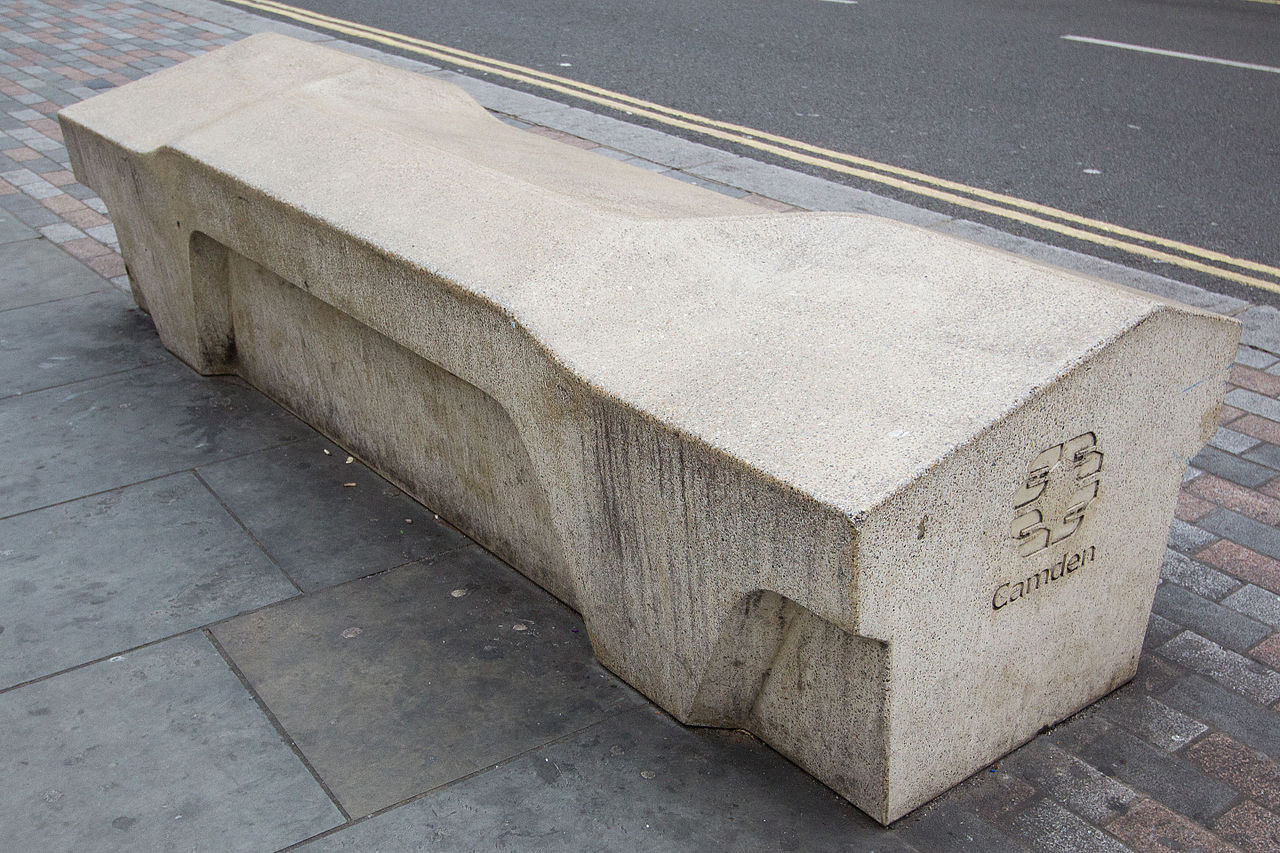 Hostile Architecture: The Indirect Public Fight on the Homeless