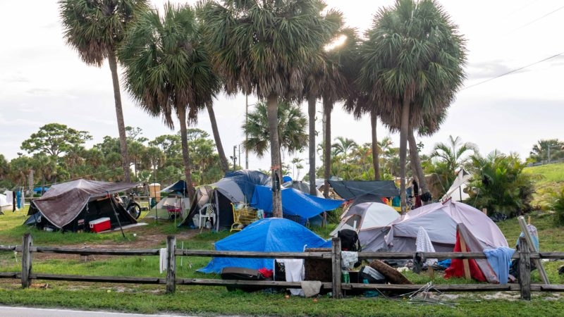 Summer Heat Brings Increase in Health Risks for Florida's Homeless