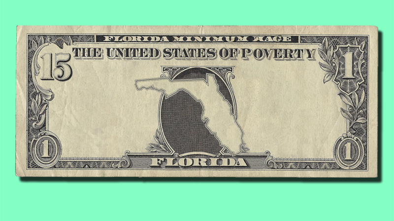 Opinion: Florida's Minimum Wage Increase is Too Little, Too Late