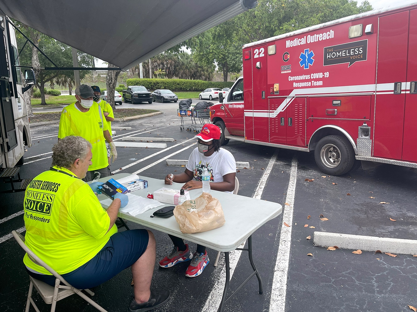 COSAC Foundation Continues to Help the Homeless by Distributing Vaccines